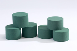 OASIS® Wet Floral Foam Cylinders