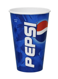 34cl/12oz Pepsi™ Standard Cold Cups