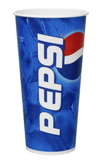 60cl/22oz Pepsi™ Standard Cold Cups